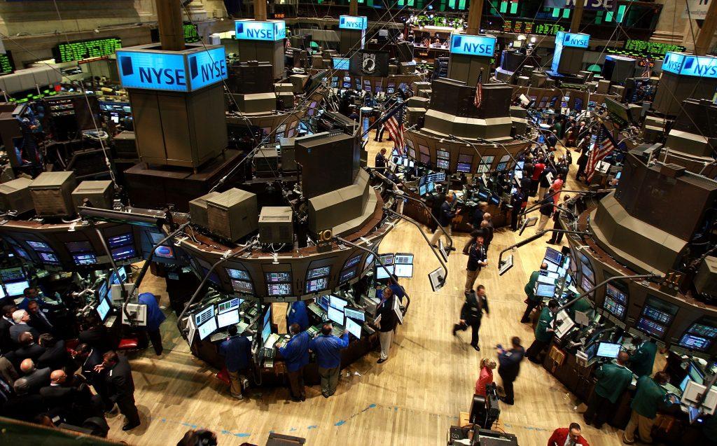 Stock-Open-Slightly-Higher On The New-York-Stock-Exchange